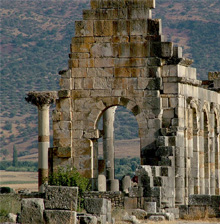 Volubilis old roman city